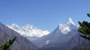 Everest Trekking, Everest View Hotel, Khumbu Range, Ama Dablam, Natur